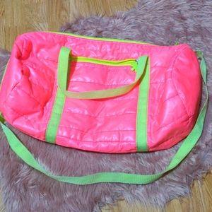 🔥3/30🔥 Vintage Vibes Neon Duffle Bag
